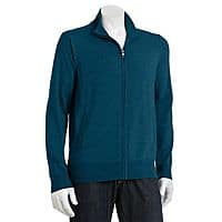 Kohls Deal: Apt. 9 Men's Modern-Fit Merino Solid Full-Zip Sweater (various colors)