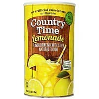 Amazon Deal: 82.5oz. Country Time Lemonade Drink Mix
