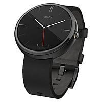eBay Deal: Motorola Moto 360 Smartwatch for Android Devices w/ Leather Strap