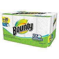 Target Deal: 48-Rolls Bounty Mega Roll Paper Towels + $10 Target Gift Card