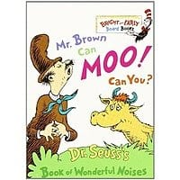 Amazon Deal: Dr. Seuss Board Books: Mr. Brown Can Moo, Can You?, The Foot Book