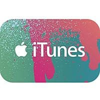 eBay Deal: $50 iTunes Gift Card (Digital Delivery)