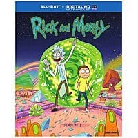 eBay Deal: Rick & Morty: Season 1 (Blu-ray)