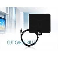 NeweggFlash Deal: 1Byone Indoor HDTV Antenna w/ Coaxial Cable (25 Miles Range)