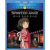 Walmart Deal: Spirited Away (Blu-ray + DVD)