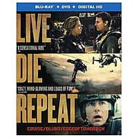 Rakuten (Buy.com) Deal: Live Die Repeat: Edge of Tomorrow (Blu-ray + DVD + Digital HD)