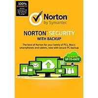 Amazon Deal: Norton Security w/ Backup for 10 Devices (PC/Mobile Download)