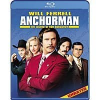Amazon Deal: Blu-rays: Anchorman: The Legend of Ron Burgundy, Transformers