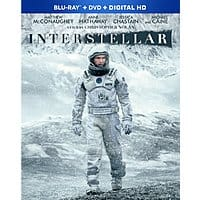 Amazon Deal: Interstellar (Blu-ray + DVD + Digital HD)