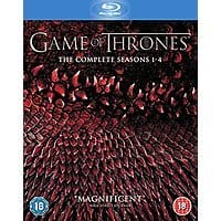 Amazon (UK) Deal: Game of Thrones: Seasons 1-4 (Region Free Blu-Ray)