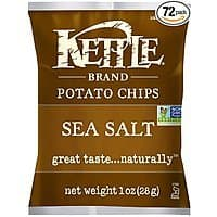 Amazon Deal: Kettle Brand Potato Chips: 72-Pack of 1oz. Sea Salt