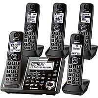 Staples Deal: 5-Pack Panasonic Link2Cell Bluetooth Cordless Phones w/ Answer Machine