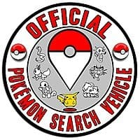 Pokemon Search Vehicle Decal $  4.50 + Free Shipping