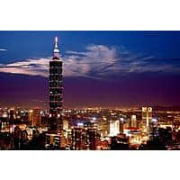 United Airlines Roundtrip Flight: Los Angeles to Taipei Taiwan