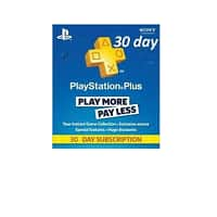 1-Month PlayStation Plus Subscription (Digital Delivery Code)  $3.30