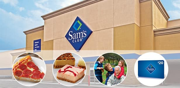 One-Year Sam's Club Membership + $20 Sam's Club Gift Card + $20 Food-Service Vouchers  $45 (New Customers Only)