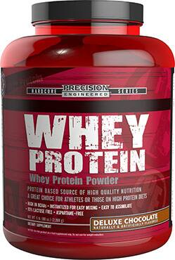 10-lbs. Precision Engineered Whey Protein (Chocolate, Vanila or Strawberry)  $58.40 + Free Shipping
