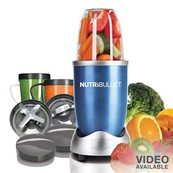 NutriBullet Nutrition Extraction System (various colors)  $55.25 + Free Shipping