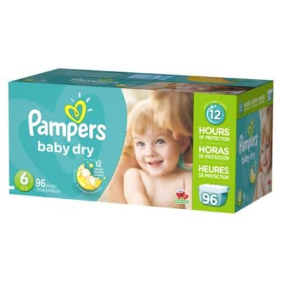 Two Boxes of Pampers or Huggies Giant Pack Baby Diapers + Free $20 Target Gift Card from $64 + Free Shipping or Store Pickup (or less w/ pickup) & More