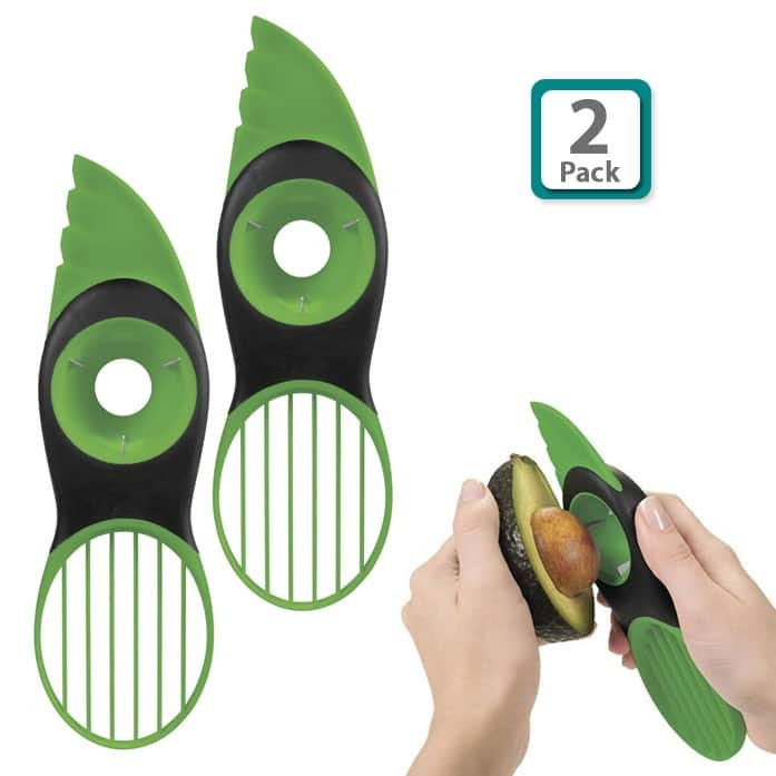 2-Pack of OXO Good Grips 3-in-1 Avocado Slicer $10 + free shipping