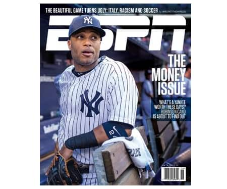 ESPN Magazine w/ ESPN Insider: 2-Years $9.50 or 1-Year  $5