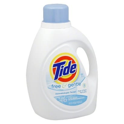 2-Pack 100-oz Tide Laundry Detergent (Various Scents) + $5 Target Gift Card  $19 + Free Shipping