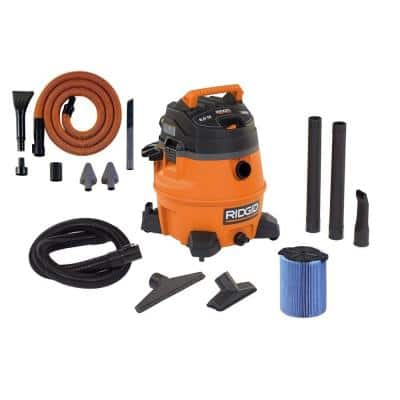 RIDGID 14-gal. 6.0 Peak High Performance Wet/Dry Vacuum with Free Auto Detail Kit for $64.97 @ Homedepot with free store pickup YMMV