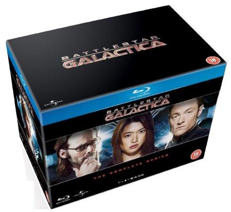Battlestar Galactica: The Complete Series (Region Free Blu-ray)  $50
