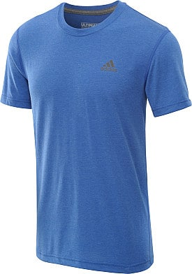 Men's and Women's Adidas Clima Ultimate Short-Sleeve Training T-Shirts  2 for $21 + Free Shipping