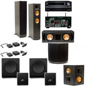 Home Theater Systems: Klipsch RF-82II 5.2 $2849, Klipsch RB-61II 5.1  $1699 & More + Free Shipping