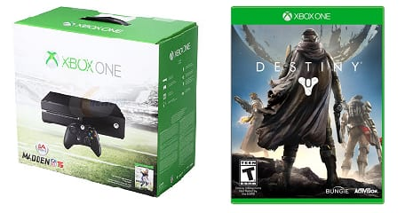 Xbox One Madden NFL 15 Bundle + Destiny Pre-Order (Xbox One)  $405