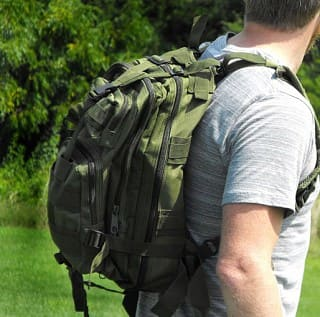 Tactical MOLLE Backpack (Various Colors)  $20 + Free Shipping