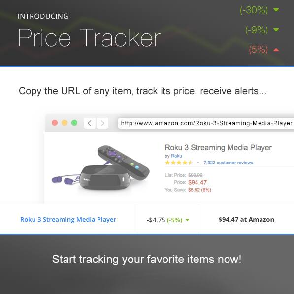 Introducing Price Tracker  Free