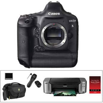 Canon 1DX + printer, etc., BH Photo $5649 after $1150 rebate