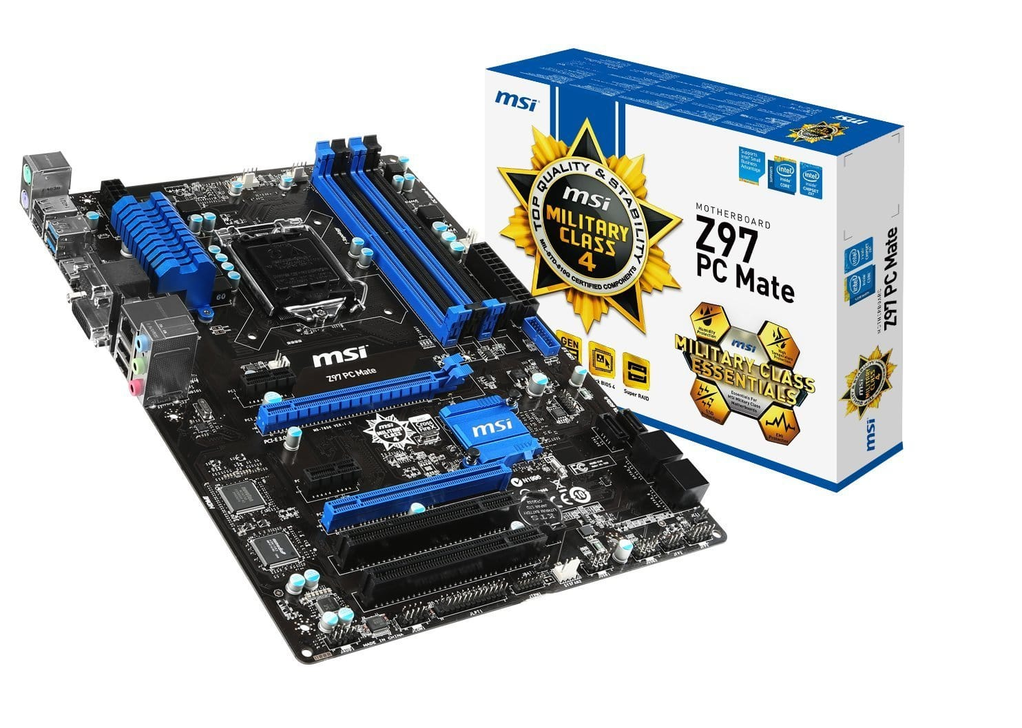 Intel Pentium G3258 CPU + MSI Z97 ATX Motherboard  $90 after $10 Rebate + Free Shipping
