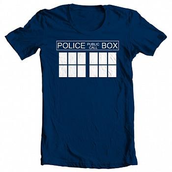 Doctor Who Inspired Tardis - T Shirt - $5.99 + FS