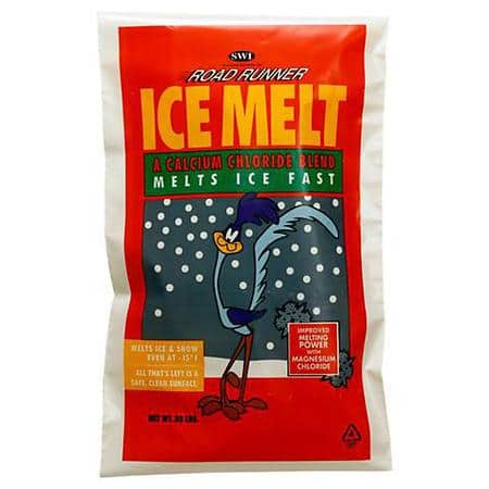 80lbs Road Runner ICE MELT $15.16 + free pick up ADVANCE AUTO (4 bags of 20lbs)
