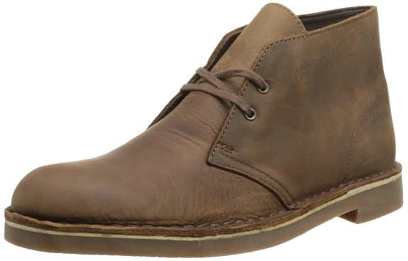Clarks Men's Bushacre 2 Desert Boots, Beeswax Leather $47.34 AC
