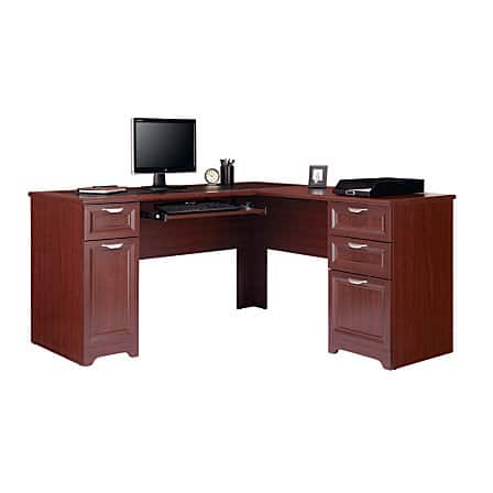 Realspace® Magellan Collection L-Shaped Desk $109 plus Hutch $41 Separate Orders $150 or Same Order $164 @ Office Depot w/ Free Store Pick-Up