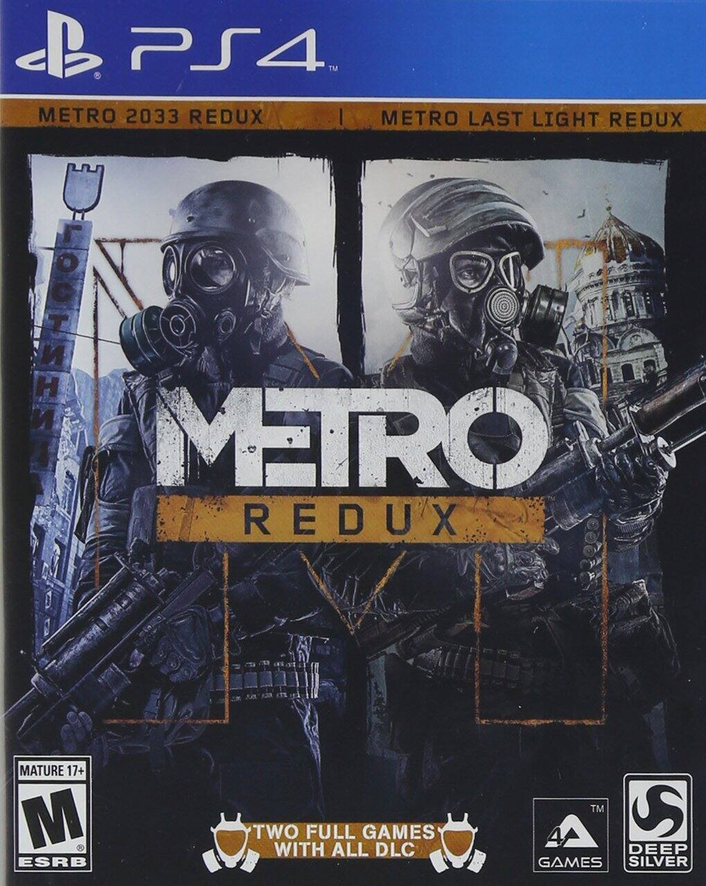 Metro Redux $24.99 at Best buy and Amazon both PS4 and Xbox One