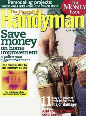 Family Handyman Magazine $6.99 per year