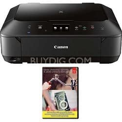 Canon MG6620 Wireless All-in-One Printer + Adobe Photoshop PEPE 12 or Lightroom 5 $93.95 (w/ Visa Checkout) + Free Shipping