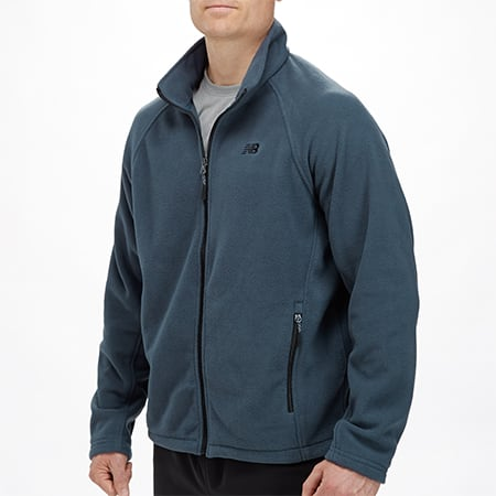 New Balance Mens & Women's Fleece Jackets (various styles) from  $12 + $1 Shipping