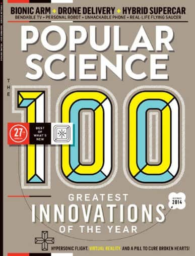 Popular Science Magazine from as low as $4 per year (when you buy 3-years)