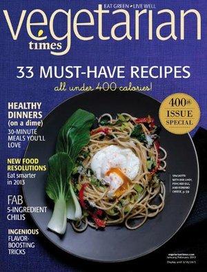 Vegetarian Times Magazine  $6/yr.