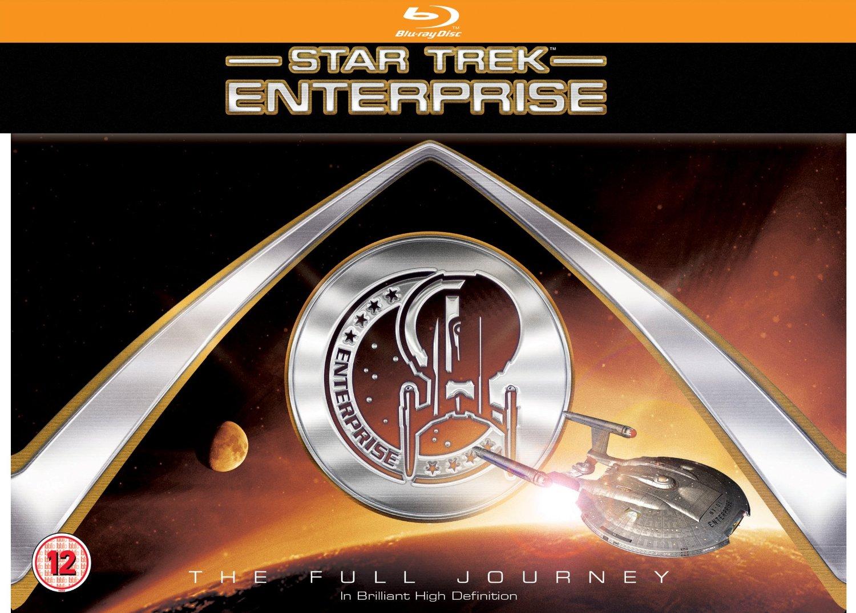 Pre-order - Star Trek: Enterprise: The Full Journey [Blu-ray] $73