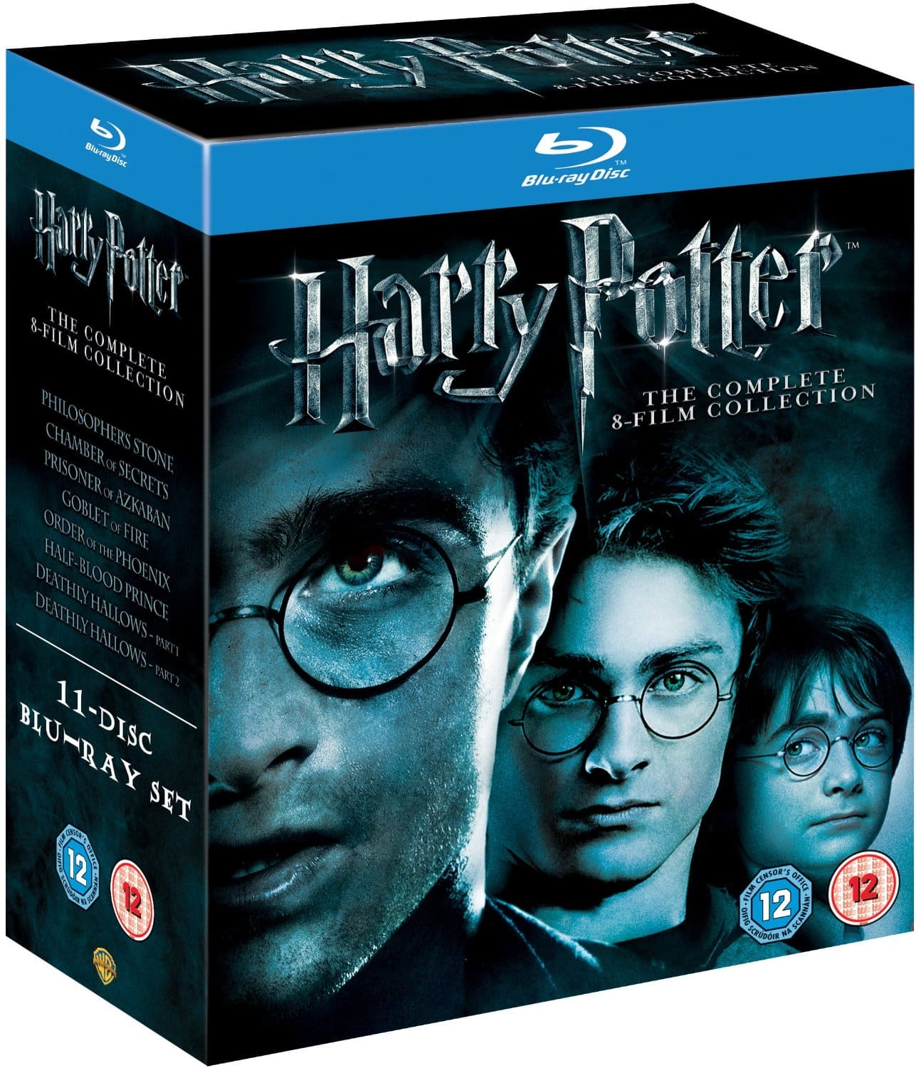 Harry Potter: The Complete 8-Film Collection (Region Free Blu-ray)  $30 + Free Shipping