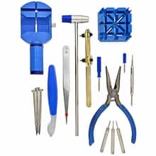 16-piece Deluxe Watch Repair Tool Kits FREE with FREE SHIPPING @ Timepiece