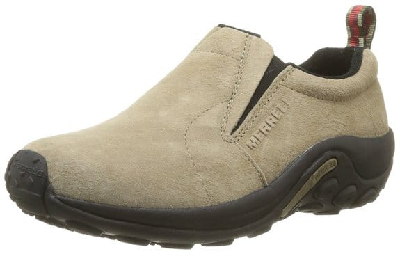 Merrell Men's Jungle Moc Slip-On Shoes (Taupe)  $32 + Free Shipping