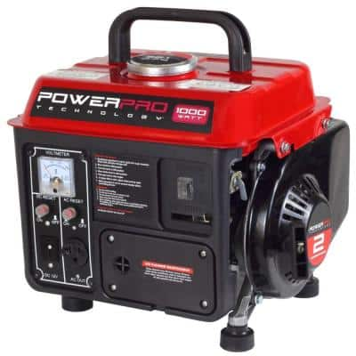 Power Pro Gas Powered 1000W Portable Generator  $95 + Free Shipping